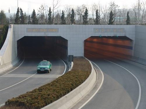 南京玄武湖隧道防水工程
