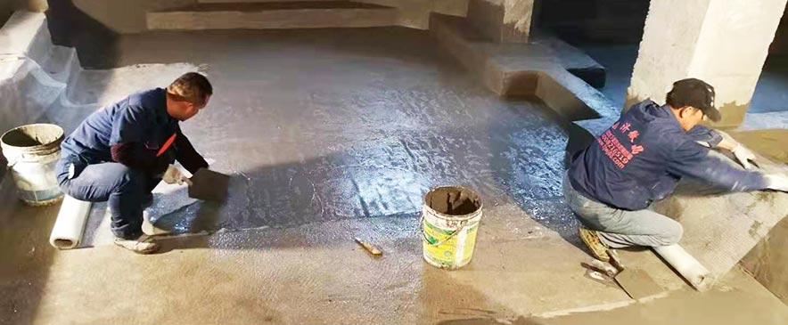 别墅自建地下室施工
