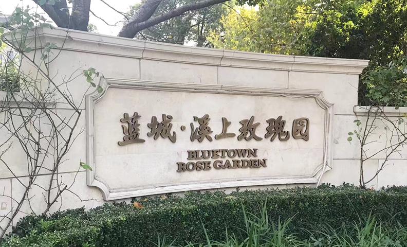杭州余杭区蓝城·溪上玫瑰园6-1